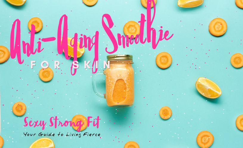 Anti-Aging Carrot Smoothie