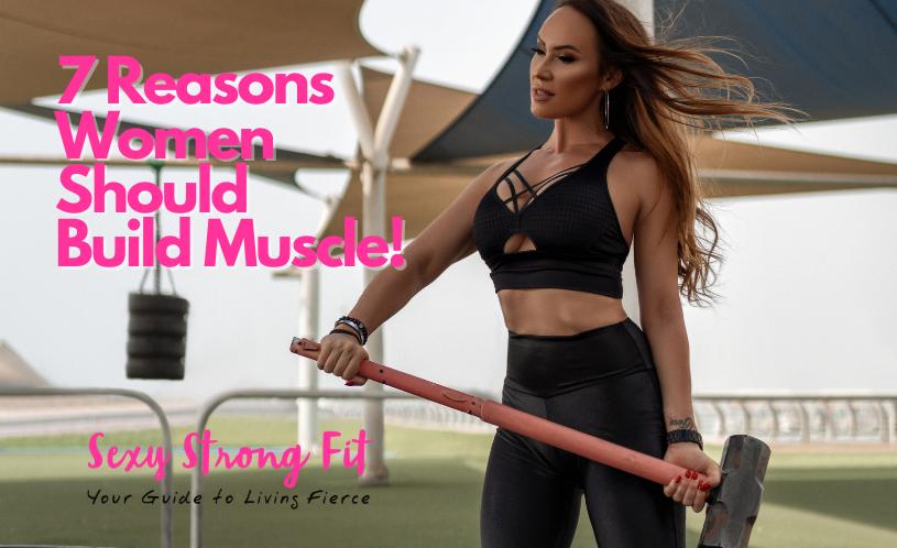 build muscle women