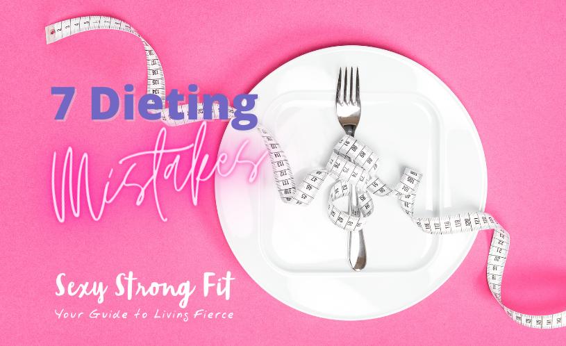 dieting mistakes